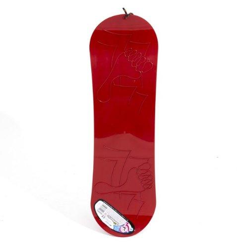 Schneegleiter SNOWBOARD Kunststoff rot -