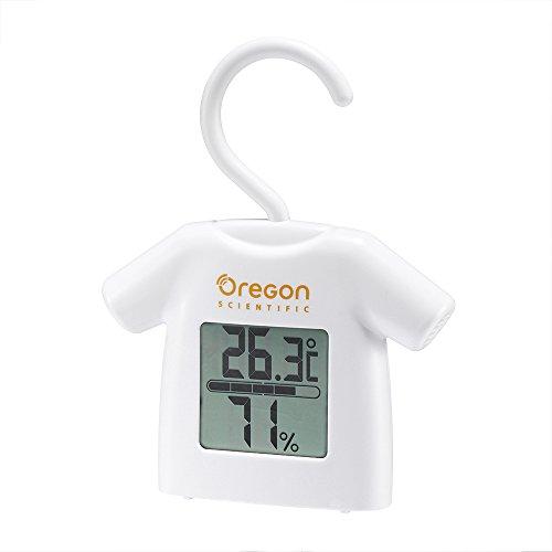 Oregon Thermomètre hygromètre Style cintre Blanc