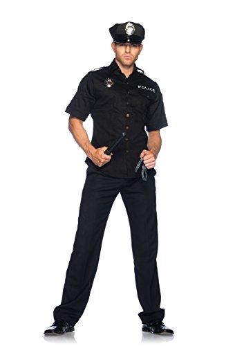 Leg Avenue American Police Kostüm, (Medium/ Large) (Shirt Kostüm Police)