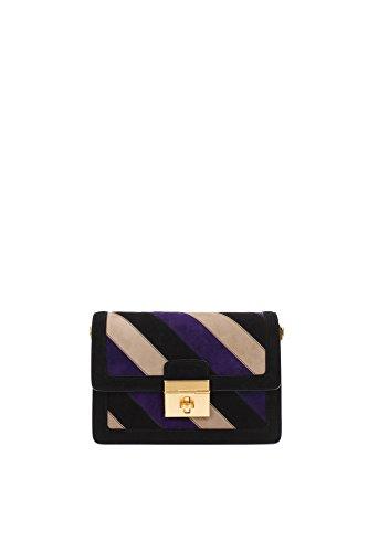 BB5842AP24489835 Dolce&Gabbana Sac à bandoulière Femme Chamois Noir Noir