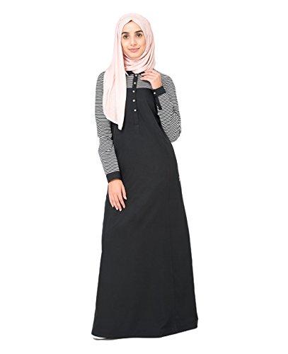 Silk Route Islamic Polo Collar Abaya Jilbab Burka