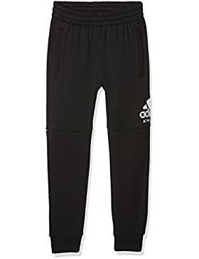 adidas SID Pantalones, Niños, Negro/Blanco, 134-8/9 años