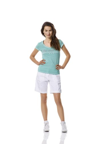 Bogner Fire + Ice Short pour femme Juna Blanc - Blanc