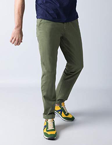 El Ganso 1020S190033 Pantalones, (Verde 0033), (Tamaño del Fabricante:44) para Hombre