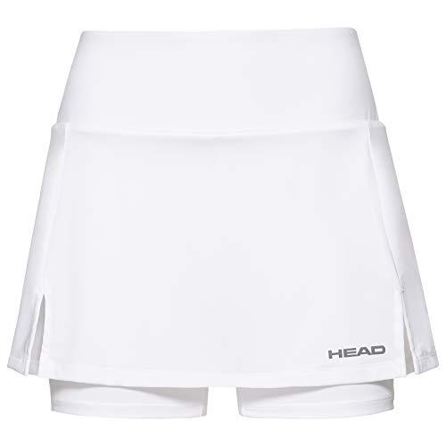 Head Mädchen CLUB Basic G Skorts, Weiß (white) , - Für Kinder Tennisröcke