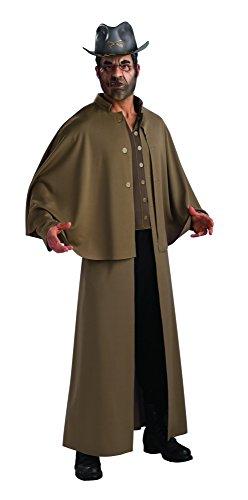 Halloween Hex Kostüme Jonah (Jonah Hex Deluxe Herrenkostüm Kostüm für Herren Antiheld Western Gr. M/L,)