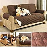 Nirva Slip Cover Couch Cover for Dogs, Kids, Pets - Sofa Cover