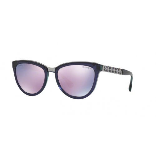 Chanel ch5361q 15765r occhiale da sole viola violet sunglasses sonnenbrille