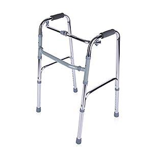 WZHWALKER Älterer Walker, Falthilfe Aus Aluminium, Vierbeiner-Gehhilfe