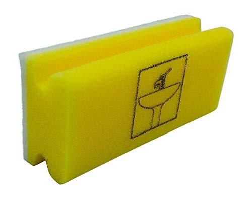 KaiserRein biologisch Piktogramm Schwamm Sanitär gelb