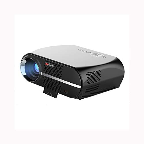 WLAN-Pico-Projektor LED-Haushaltsgeräte Bürogeschäftsprojektierung HD 1080p-Projektion Direkt mit Telefon, Tablet, Laptop verbinden