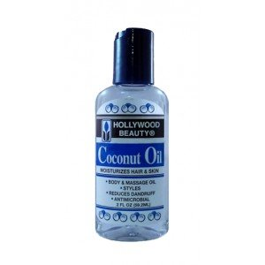 Hollywood Beauty - Hollywood Beauty Coconut Oil Moisturizes Hair & Skin 59.2 - Volume : 60 ml.