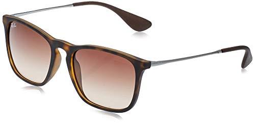 Ray-Ban - Gafas de sol Wayfarer Chris RB4187, Brown (Braun)