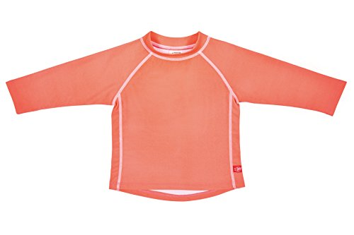 Lässig Splash & Fun Long Sleeve Rashguard / Baby Badeshirt / UV-Schutz 50+  girls, M / 12 Monate, peach
