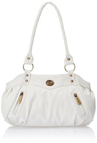 Fostelo Women's Handbag (White) (FSB-145)