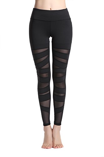 lotus-instyle-womens-mesh-panels-fitness-trousers-gym-leggings-yoga-pants-l-black6