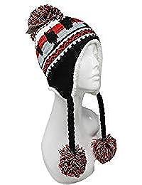 a2735a80c23 ChoKoLids Football Team City Name Knitted Pom Pom Earflap Winter Hat - 23  Cities (Atlanta