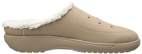 crocs Colorlite Lined Clog Unisex Unisex-Erwachsene Clogs & Pantoletten Beige (Tumbleweed/Oatmeal)