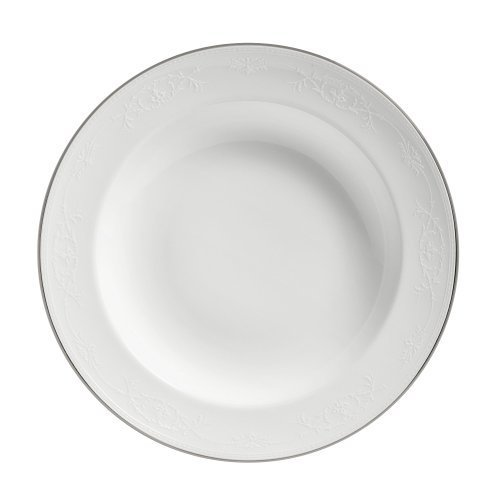 Wedgwood English Lace 9-Inch Rim Soup Plate by Wedgwood Lace-rim Soup Plate