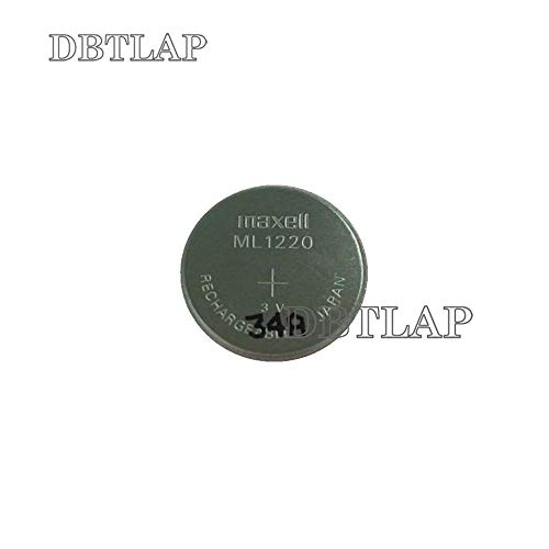 DBTLAP CMOS Batterie kompatibel für Maxell FDK ML1220 Batterie CMOS Bios Batteries 3v Button Cell Batterie Backup - 3v Backup-batterie