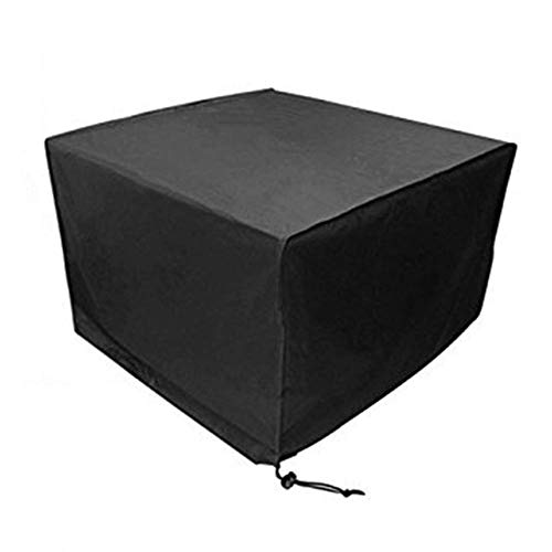 Preisvergleich Produktbild GLP Oxford Cloth Outdoor Gartenmöbel Wasserdichte Staubschutz Gartentisch Und Stuhl Sonnencreme Maschine Abdeckung Eine Vielzahl Von Größen Erhältlich Schwarz (Size : 270x180x89cm)