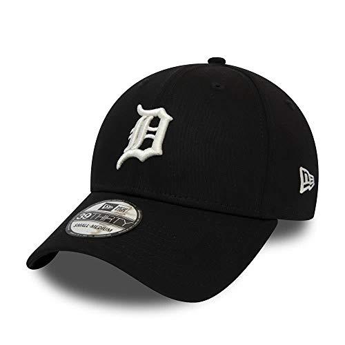 New Era League Essential 39Thirty Cap Detroit Tigers Schwarz, Size:S/M (Tigers Detroit)