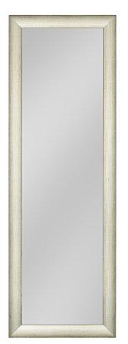 your-homestyle Rahmenspiegel/Wandspiegel Charlotte, 50 x 150 cm, Silber, für Schlafzimmer, Badezimmer, Wohnzimmer Garderobe und mehr geeignet