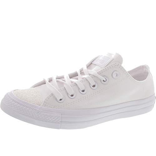 Converse Damen Chuck Taylor All Stars Sneaker Weiß White/Silver 000, 38 EU -