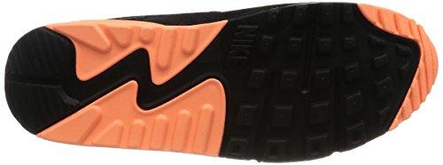 Nike Air Max 90 Essential, Sneakers Basses femme Drk Grey/Snst Glw-Blk-Pr Pltnm