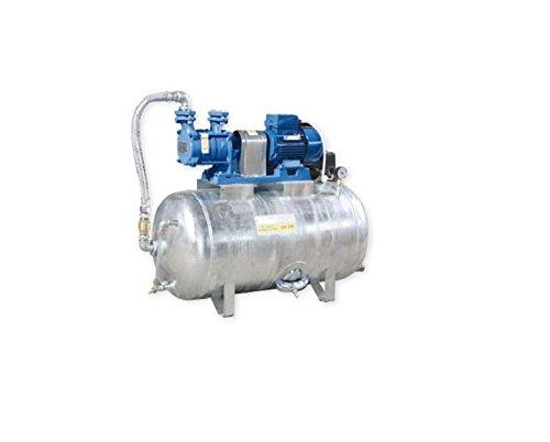 Hauswasserwerk 1,1 kW 230V 91 l/min 150L Druckbehälter verzinkt