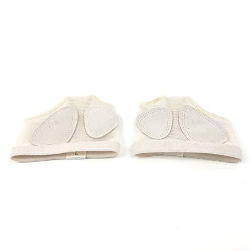 Grouptap Lyrical Moderne Bauchtanz und Walking Fuß Thong Kissen Halbschuhe mit Anti-Rutsch-Ledersohlen Pads (M (36-37 EU | 4-5 UK)) -