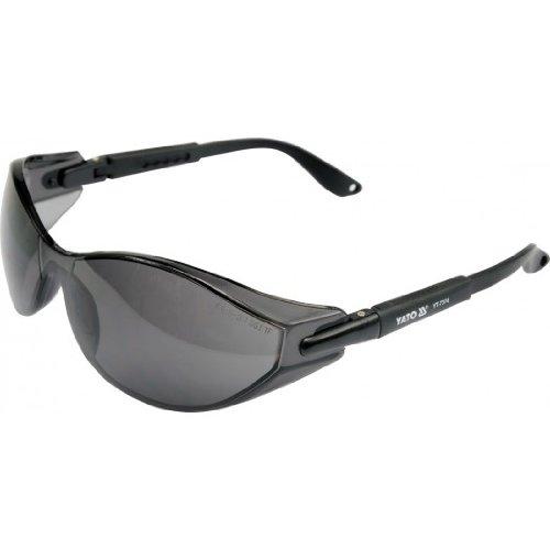 Arbeitschutzbrille dunkel getönt, verstellbar Bügel, Schutzbrille