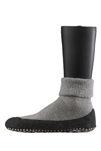 falke herrensocken FALKE Herren Socken Cosyshoe rutschfeste Haussocken - 1 Paar, Gr. 43-44, grau, Stoppersocken mit Noppen