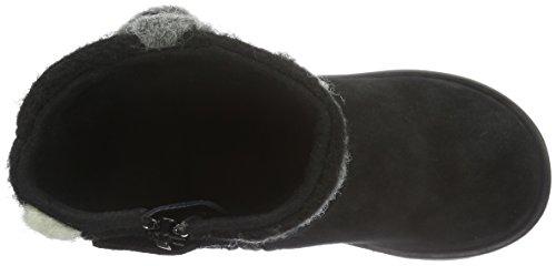 Geox Noha A, Bottes Classiques Fille Schwarz (BLACKC9999)