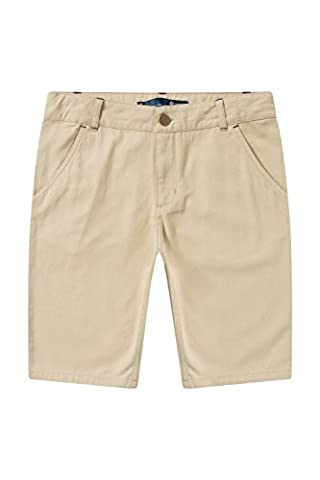 Zakti Kids On The Fly Chino Shorts Stone 7-8