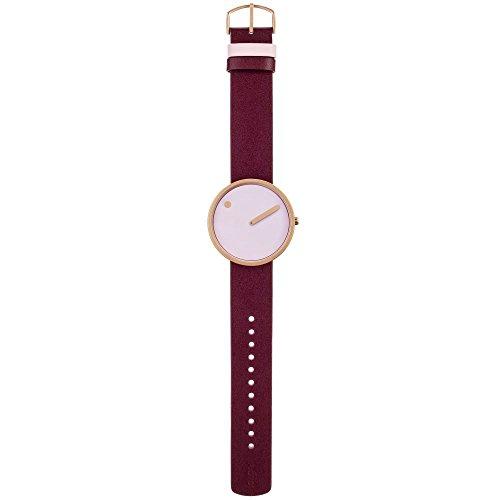 Rosendahl Unisex Reloj de pulsera Picto analógico de cuarzo piel 43382