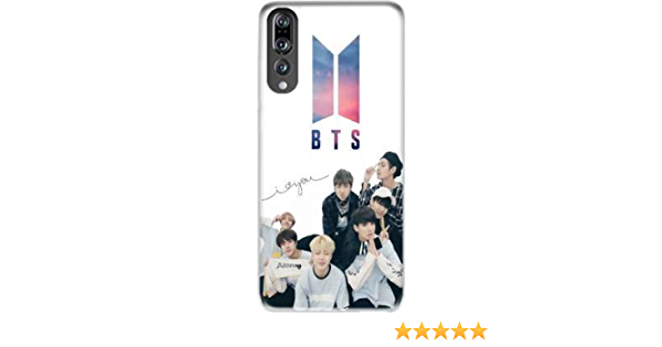 Mobilinnov Coque Huawei P20 Pro/Plus Rigide Motif K-Pop BTS Bangtan Boys de Protection et Personnalisation