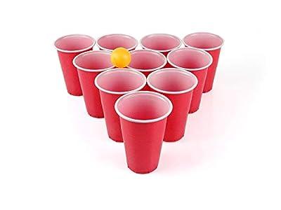 SeMa Home & Play Beer Pong Lot de 24 gobelets et balles