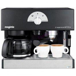 Machine L'expresso & Filtre Noir Magimix