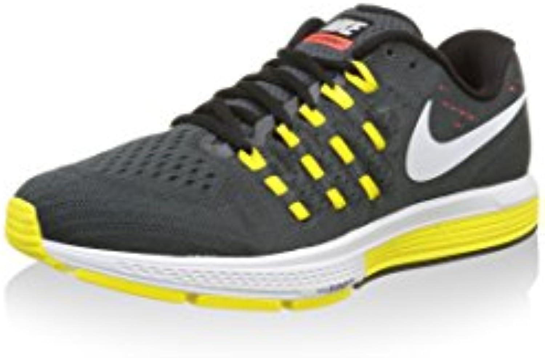 Nike Herren Air Zoom Vomero 11 Laufschuhe  Multicolore (Grigio/Bianco/Nero/Giallo)  45.5 EU