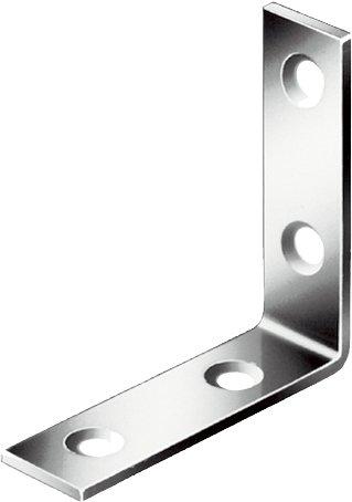 Preisvergleich Produktbild Stuhlwinkel 25x15mm Edelstahl matt geschliffen