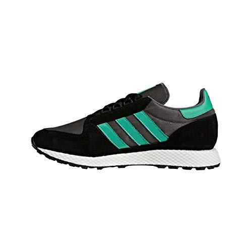 adidas Herren Forest Grove Fitnessschuhe, Schwarz (Negbás/Vealre/Gricua 0), 42 2/3 EU