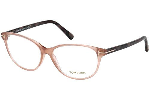 Tom Ford FT5421 Brillen 55-14-140 Rosa Mit Demonstrationsgläsern 074 TF5421