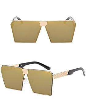 YAANCUN Para Hombre De Gafas De Sol Polarizadas Al Aire Libre Deportes De Marco De Metal Grande