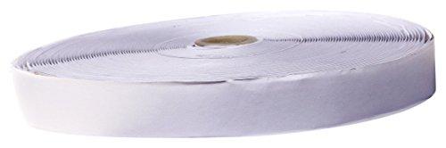HIMRY Hook and Loop Tape Self Adhesive, 25 Meter (25Meter Hook 25 Meter Loop) x 25mm, KXB5009 White