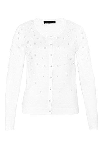 HALLHUBER Cardigan avec perles appliquées Blanc Cassé