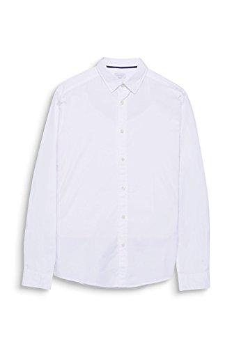 ESPRIT Herren Freizeithemd Weiß (White 100)