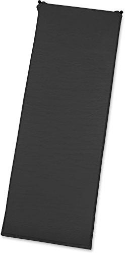 GearUp selbstaufblasende Thermomatte/Isomatte - Gute Isolierung und Polsterung, Perfekt zum Campen Farbe Schwarz/Grau Größe 190 x 60 x 3 cm