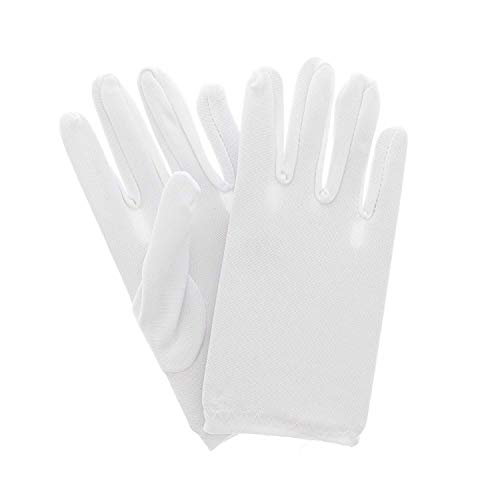 Kostüm Zauberer Mickey Mouse - Zac's Alter Ego® Fancy Dress Soft White Children's Gloves