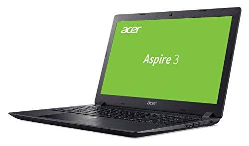 Acer Aspire 3 A315 51 39WQ 3962 cm 156 Zoll full HD matt multimedia Notebook Intel key i3 6006U 4GB RAM 128GB SSD 1000GB HDD Intel HD Win 10 schwarz Notebooks
